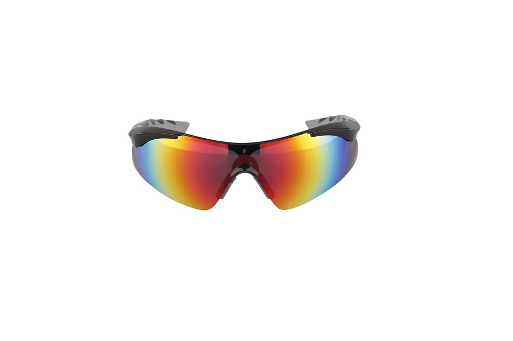 XLC Komodo SG-C09 Sonnenbrille schwarz-grau/grau verspiegelt 2018 Triathlon Brillen G6PmKKvw